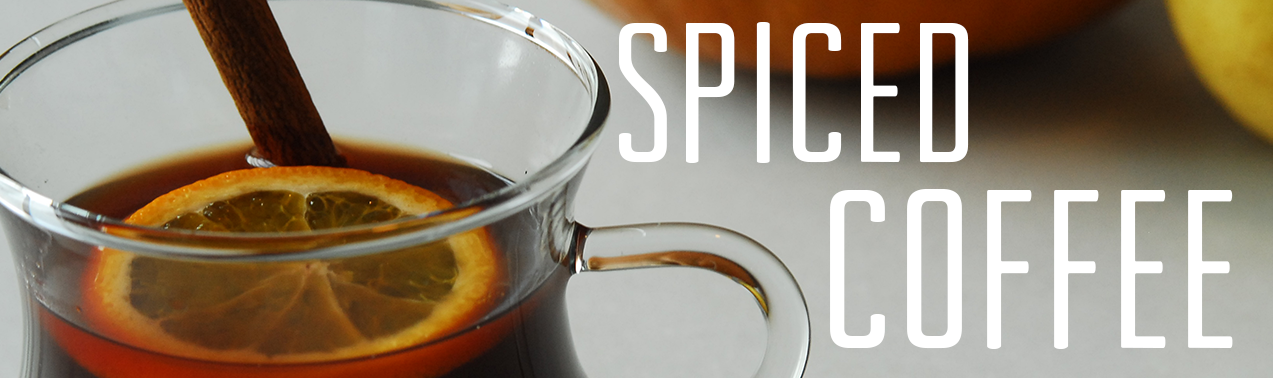 spiced coffee recipe header