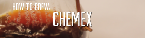 How to brew Chemex