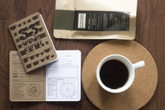 """33 Cups of Coffee"" Tracker Journal by 33 Books Co."