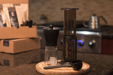 Gift The Roasters Pack with AeroPress & Hario Slim