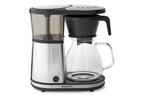 Bonavita Eight (8) Cup Coffee Brewer with Glass Carafe & Hot Plate