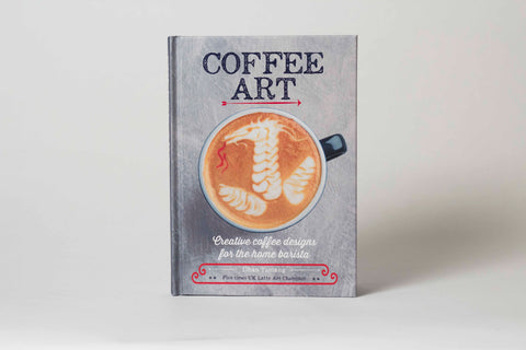 """Coffee Art"" Book by 5-Time UK Latte Art Champ Dhan Tamang"
