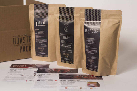 3 x 8oz The Roasters Pack (Dark Option) - 3 Issues