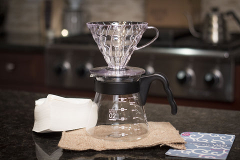 Hario Pourover V60 Kit (Dripper, Server & Filters)