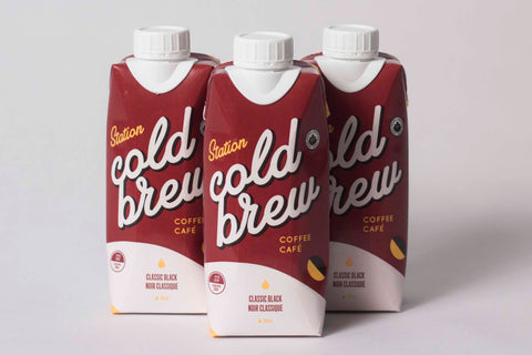 Station Coffee Cold Brew 3-Pack (Classic Black)