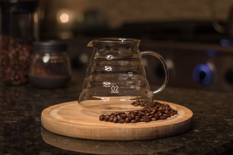 Hario Coffee V60 Range Server 600ML, Clear