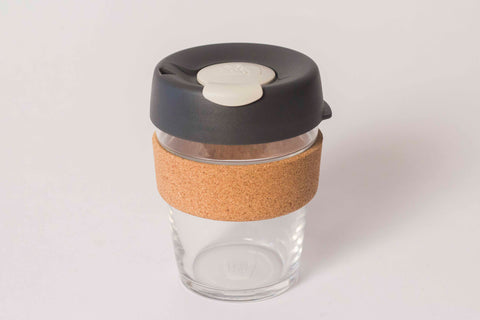 KeepCup 12oz Reusable Coffee Cup with Natural Cork Band