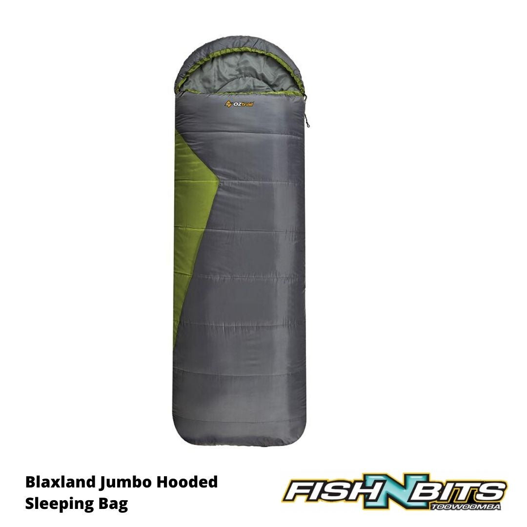 OZtrail - Blaxland Jumbo Hooded Sleeping Bag