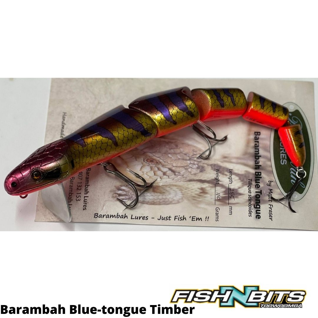 A28P20 - Barambah Blue-tongue Timber