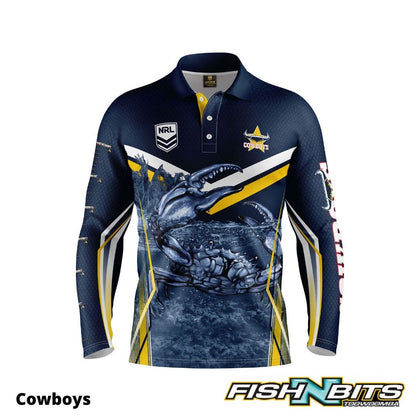 NRL - Fishing Jersey (Cowboys)