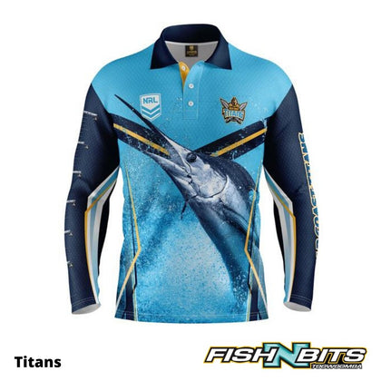 NRL - Fishing Jersey (Titans)
