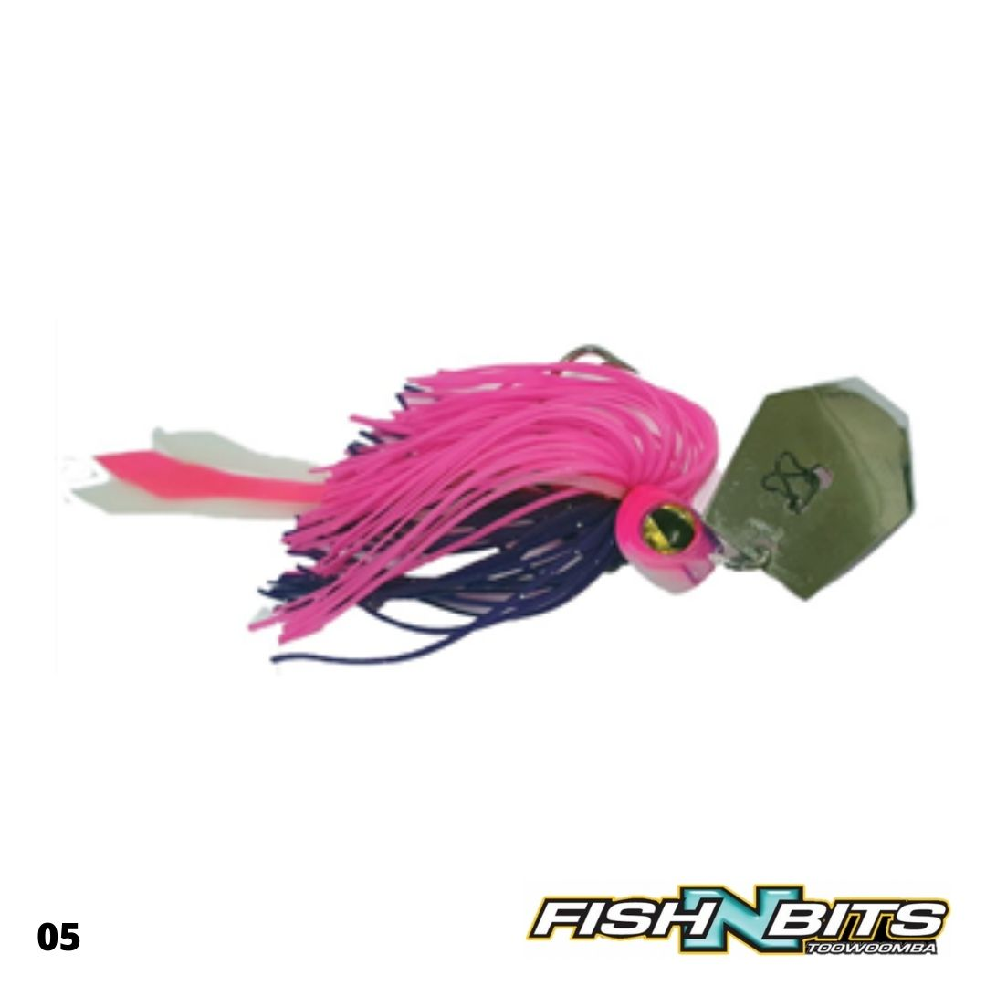 JAZ - Party Grub Chatterbait 5/8oz