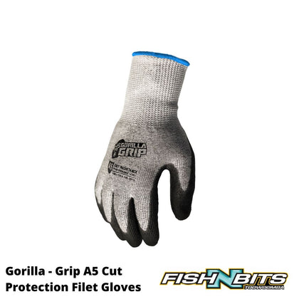 Gorilla - Grip A5 Cut Protection Filet Gloves