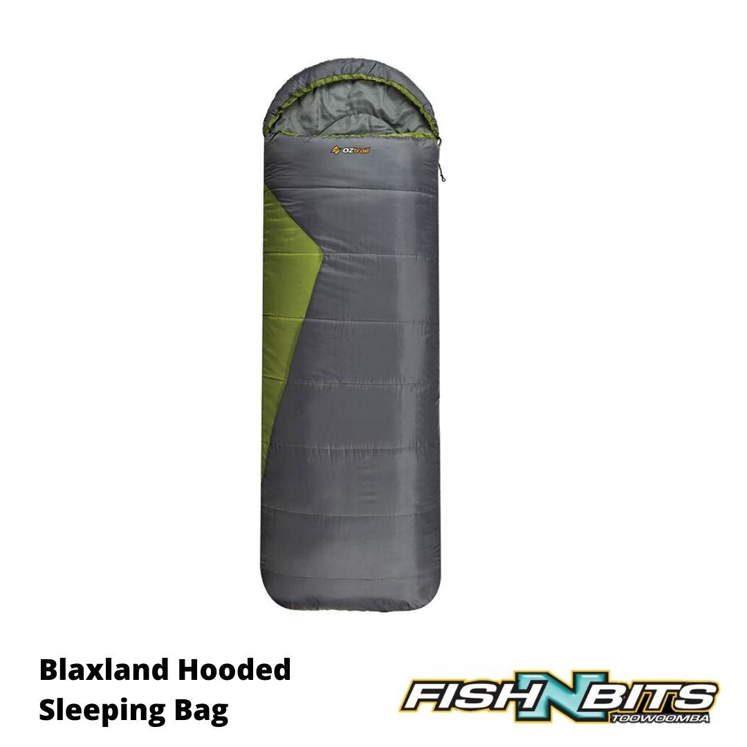 Oztrail - Blaxland Hooded Sleeping Bag
