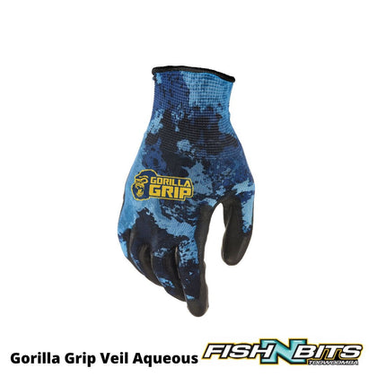 Gorilla - Grip Veil Aqueous No Slip Fishing Gloves
