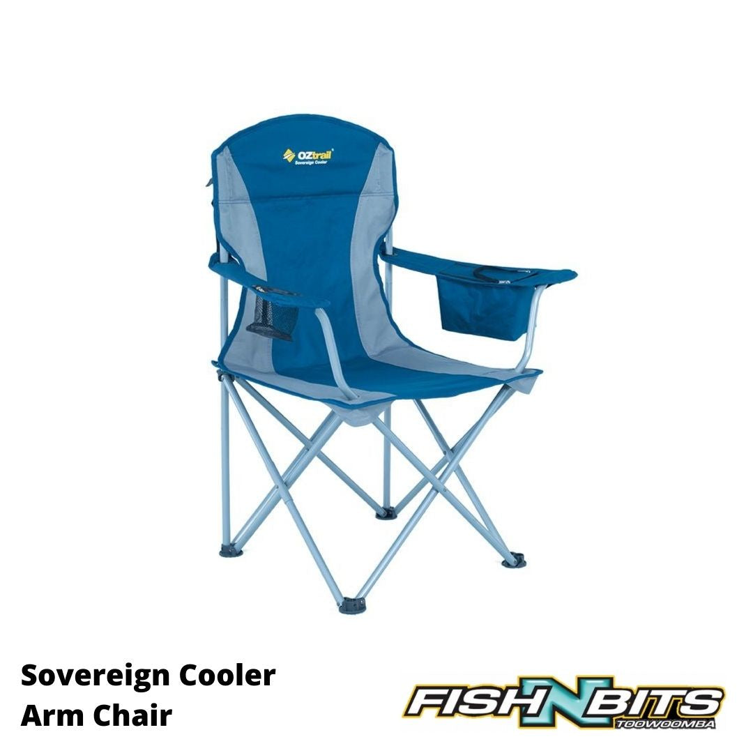 OZtrail - Sovereign Cooler Arm Chair