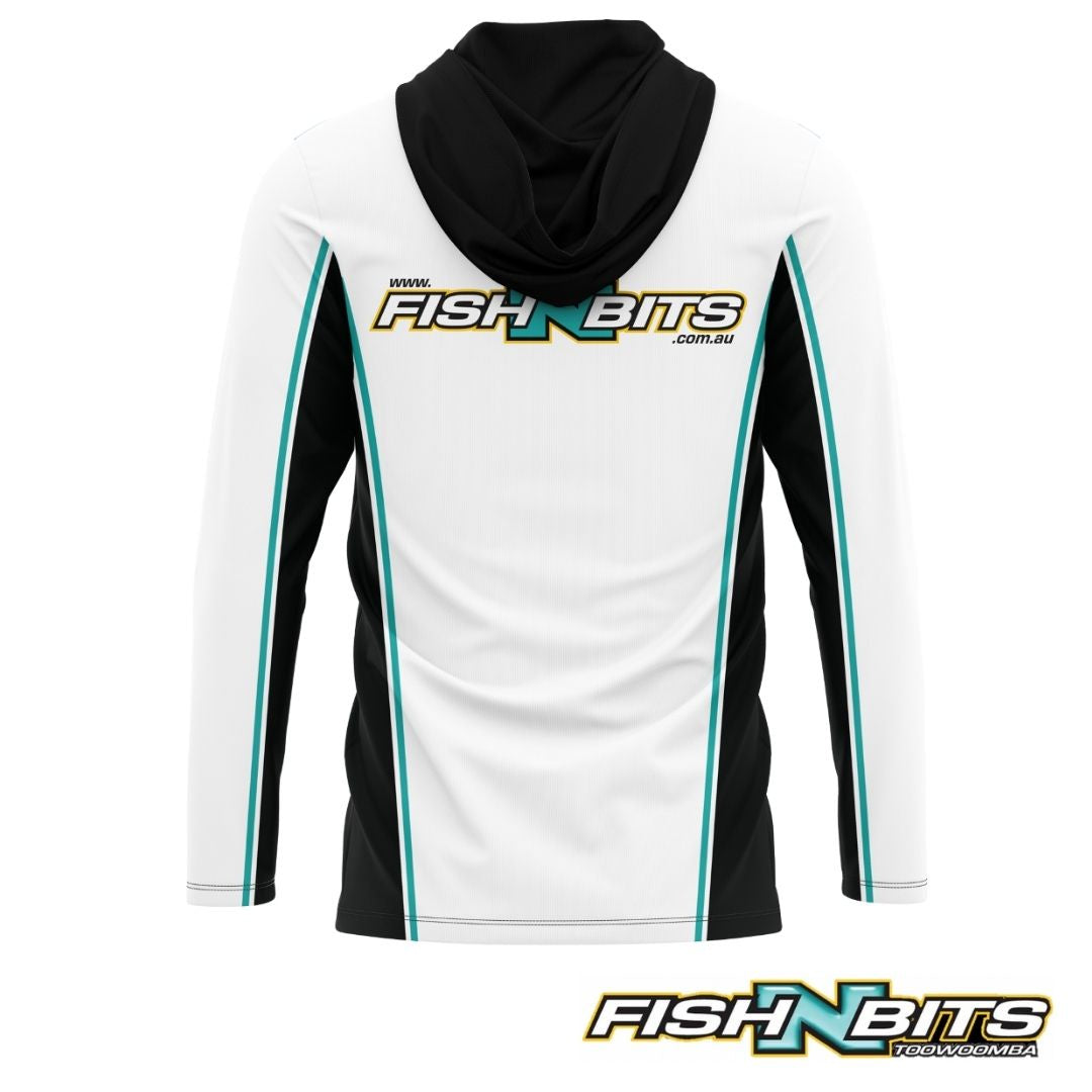 Fish N Bits - Hooded Jersey