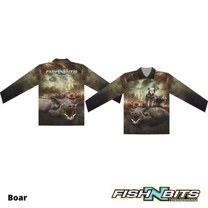 Fish N Bits - Boar Shirt