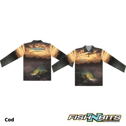 Fish N Bits - Murray Cod Shirt (PRE ORDER)