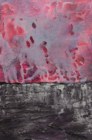 Abstract in Pinks and Gray