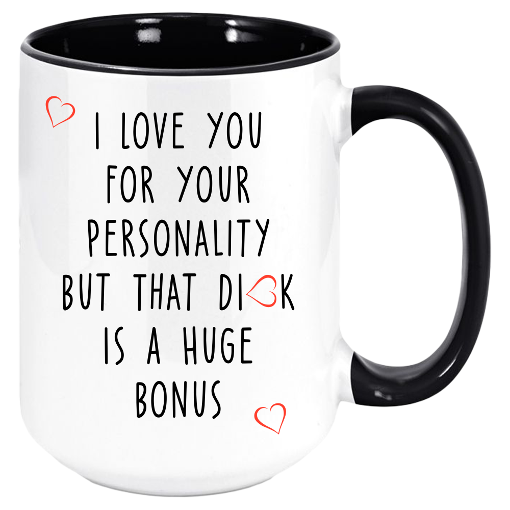 Funny I Love You Coffee Mug, Valentines Day Anniversary Gift Mugs, Partner Gifts For Boyfriend / Husband