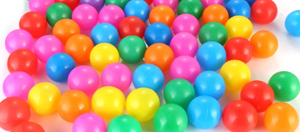 FitC™ 100/200pc Plastic Ball Pit Balls Pack for Baby/Kids Ball Pool