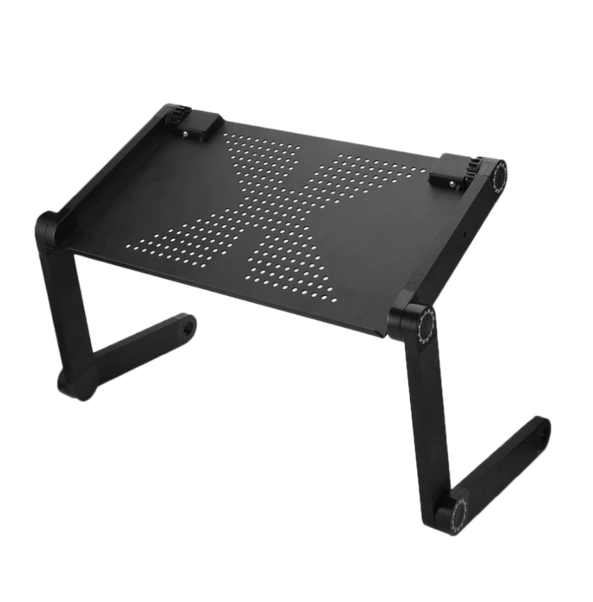 ZenC™ Adjustable Foldable Laptop Stand Desk for Table Couch & Bed