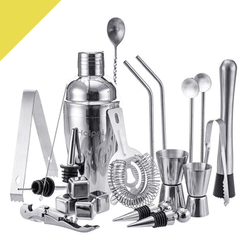 Haipei™ 22-Piece Drink Mixer Bartender Kit Cocktail Shaker Set