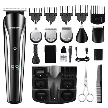 HairBud™ Professional Nose Beard Ears Shaver Electric Wireless Clipper Full Body Hair Trimmer