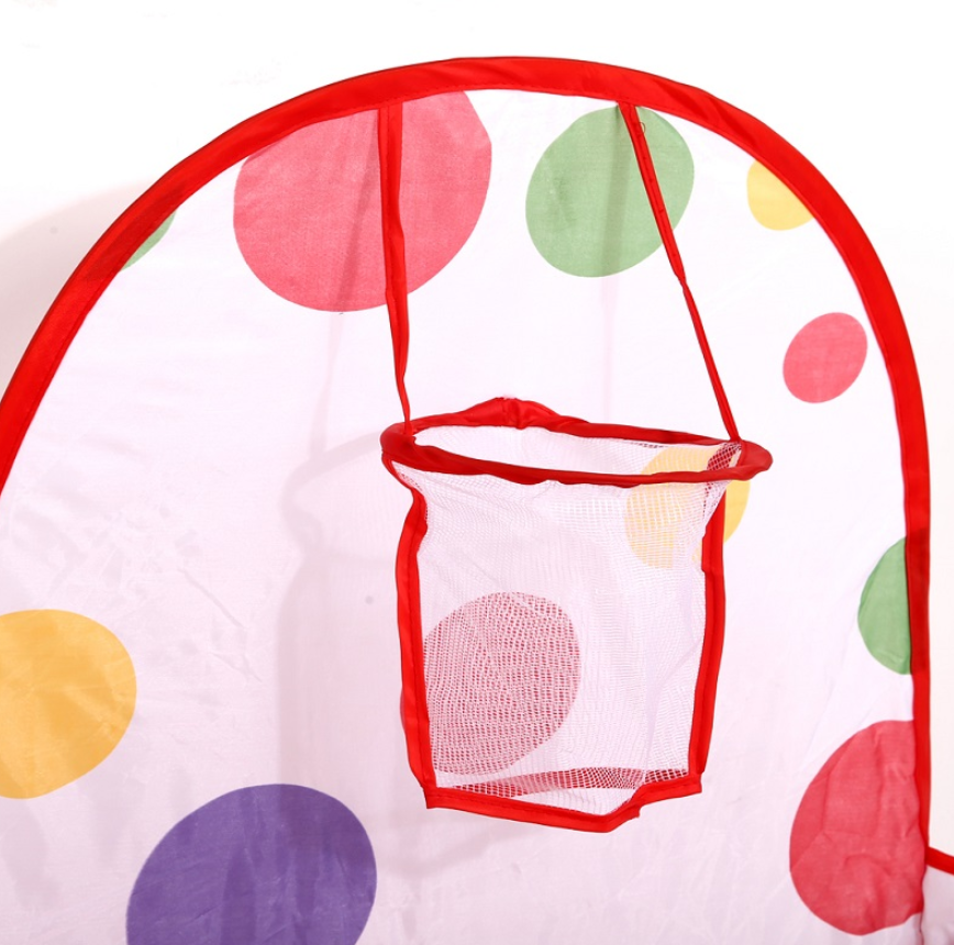 FitC™ Foldable Indoor/Outdoor Baby Ball Pit Playpen for Kids w/t Ball Hop zoomed in on the hop.