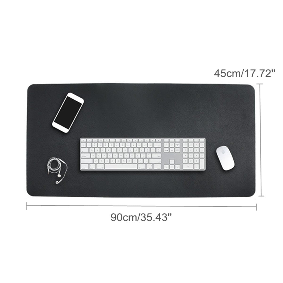 MatIt™ Large Two-Sided PU Leather Office Desk Table Pad Mat Blotter Cover