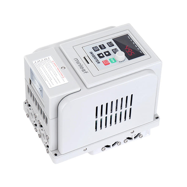Minleaf™ 2.2kW 220V 3HP 1-Phase Input 3-Phase Out PMW Control VFD Variable Frequency Drive