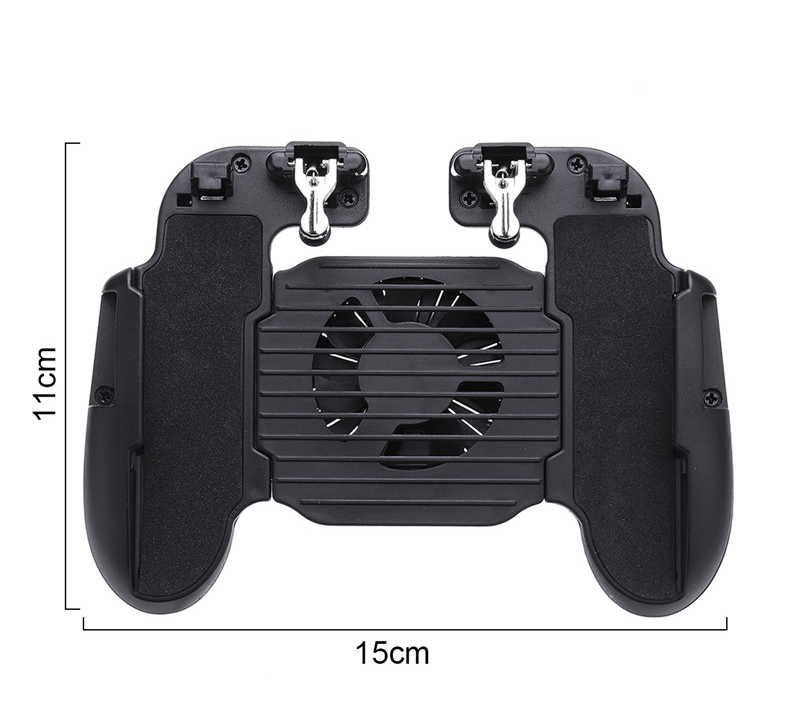 CtrlMe™ Gamepad Joystick Android iPhone Game Phone Controller & Cooler Holder