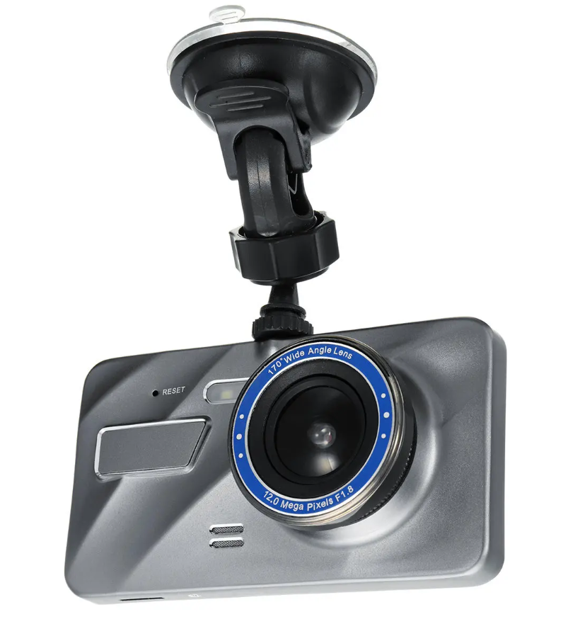 RecMe™ Rear View DVR Reverse Camera Dual Dash Cam Car Black Box