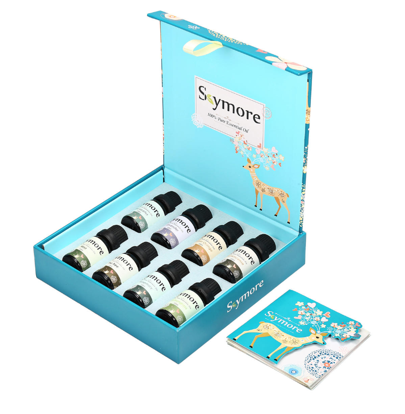 Skymore™ Best Essential Oil Set of 100% Pure Aromatherapy Oils for Diffuser