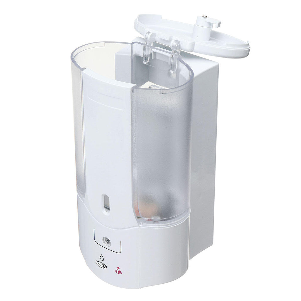 SoapX™ White Wall Mounted Kitchen Bathroom Touchless Automatic Hand Soap Dispenser