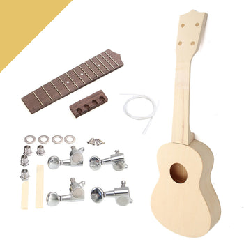 YouKulele™ 21-inch Build Your Own DIY Hawaii Soprano Ukulele Kit