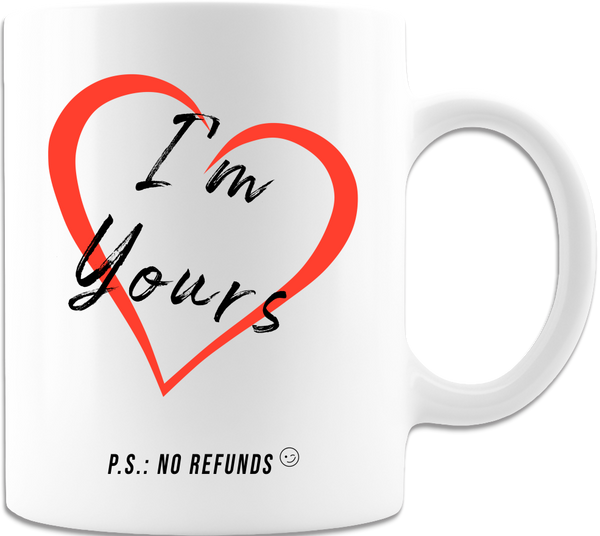 I Love You Coffee Mug, Valentines Day Anniversary Gift Mugs, Funny Partner Gifts For Girlfriend / Boyfriend / Husband / Wife