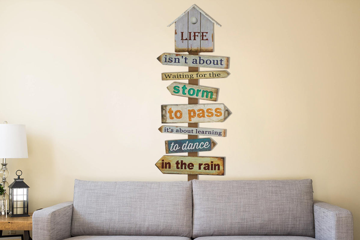 ZenC™ Inspiring Motivational Quote Wooden Wall Hanging Art Decor