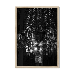 'Chandelier 13' by Michael Banks Framed Print