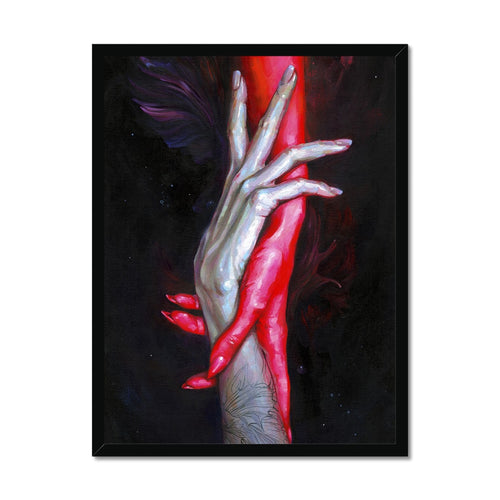 Allure | Red Abstract Art | MGallery | MGallery , Buy Red Abstract Art Wall Art! Add a beautiful style to your home with our beautiful Abstract Acrylic Painting art prints, all at best prices and worldwide shipping!-mgallery