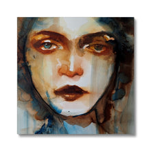 Load image into Gallery viewer, Timeless 12 | Modern Art Paintings of Women | MGallery, Buy Modern Art Paintings of Women online! All Acrylic Portrait Canvas Art Prints are professionally printed, framed, assembled, and shipped within 4-5 business days.-mgallery
