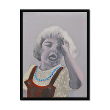 Load image into Gallery viewer, 'Child - 8' by Vincenzo Sgaramella Framed Print