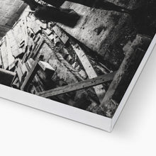 Load image into Gallery viewer, Luggage | Black and White Photo Canvas Art | MGallery, Black and White Photo Canvas Art Print for you! Find a wide range of elegant Dark Coloured Art Prints at MGallery. Delivered ready to hang.-mgallery