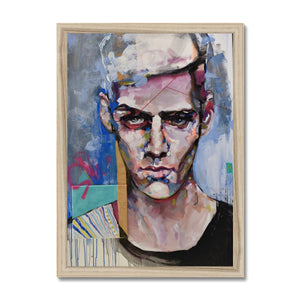 Man 1 Portrait | Shop Quality Framed Prints | MGallery, Shop Quality Framed Prints at MGallery! Decorate your walls with Designer Wall Art Prints Online. Fast Worldwide Delivery Available! -Fine art-mgallery