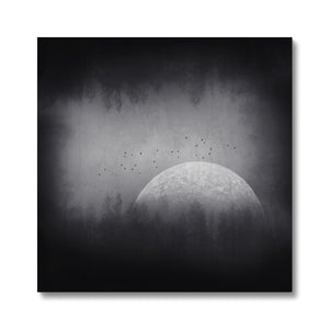 'Black Box Moon' by Dirk Wüstenhagen Canvas