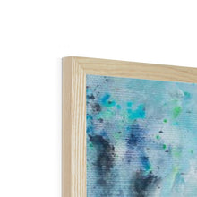 Load image into Gallery viewer, Blue Valentine | Acrylic Framed Art | Mgallery, Shop Abstract Acrylic Framed Art Prints and Discover high quality Beautiful Abstract Art Paintings for bedroom, living room or office room.-mgallery