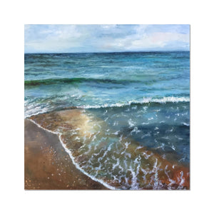 Emerald Bay | Beach Wall Art UK | MGallery, Design your home with Beautiful Beach Wall Art UK Print you'll love. This Beach art Deco wall art is part of the Framed print collection available at Mgallery.-mgallery