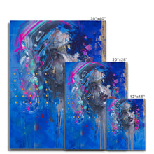 Load image into Gallery viewer, Lady 22 Portrait | Best Canvas Print Art | MGallery, Design your gallery wall of Best canvas art prints with women portrait art. Printed Canvas Arts of Figure Painting & Woman Painting at MGallery.-Fine art-mgallery