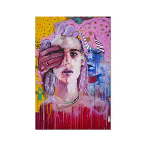 Lady 23 Portrait | Fine Art Print Collection UK | MGallery, Browse the beautiful Fine Art Print Collection UK at MGallery. All our fine art prints are produced using the latest Giclée printmaking.-Fine art-mgallery